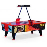 """Игровой стол - аэрохоккей """"Ice & Fire"""" 8 ф (жетоноприемник)"""