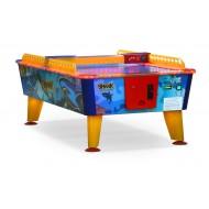 """Игровой стол - аэрохоккей """"Shark"""" 8 ф (всепогодный, жетоноприемник)"""