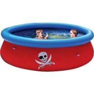 Надувной бассейн Bestway с 3D рисунком Fast Set