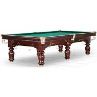 Бильярдный стол для русского бильярда «Classic II» 9 ф (махагон, 6 ног, плита 25 мм)