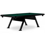 Всепогодный бильярдный стол для пула «Key West» 8 ф (черный)