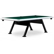 Всепогодный бильярдный стол для пула «Key West» 8 ф (серый металлик)