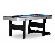 """Бильярдный стол для пула """"Team II"""" 6 ф (черный) ЛДСП"""
