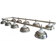"Лампа на десять плафонов ""Crown"" D38 (серебристая)"
