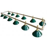 "Лампа на двенадцать плафонов ""Evergreen"""