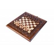 """Шахматы + нарды резные """"Армянский Орнамент"""" 30, Haleyan"""