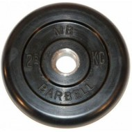 Barbell диски 2,5 кг 26 мм