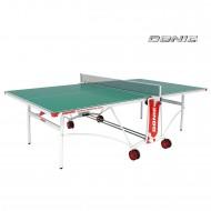 Всепогодный Теннисный стол Donic Outdoor Roller De Luxe зелёный