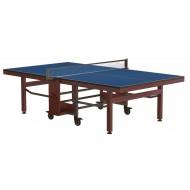"""Складной стол для настольного тенниса """"RASSON PREMIUM R200"""" (274 х 152,5 х 76 см, натуральный эвкалипт) с сеткой"""