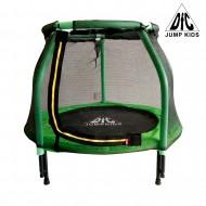 "Батут DFC JUMP KIDS 48"" cв.зеленый, сетка (120cм)"
