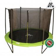 Батут DFC JUMP 6ft складной, с сеткой, цвет apple green