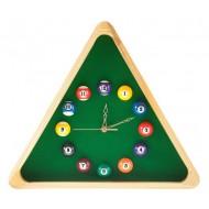 """Часы настенные """"Треугольник"""" (дуб) 40 см х 35 см, деревянные"""