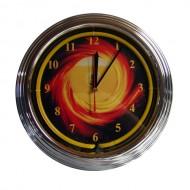 """Часы настенные """"NBU-3"""" (неон) D35см"""