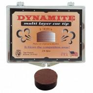 """Наклейка для кия """"Dynamite"""" (M) 14 мм"""