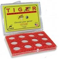 """Наклейка для кия """"Tiger Pro Jump Tip"""" 15 мм"""