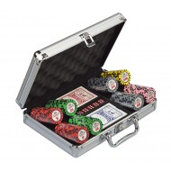 Набор для покера Black Crown на 200 фишек