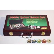 Набор для покера Wood на 300 фишек