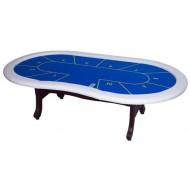 """Стол для покера """"Action"""" (синий)"""