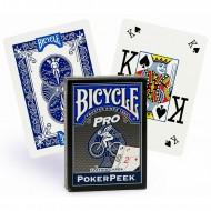 "Карты ""Bicycle Pro"", синяя рубашка"
