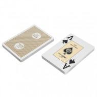 """Карты """"Fournier 2818 Casino Europe"""", 100% пластик, бежевая рубашка"""