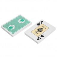 "Карты ""Fournier 2818 Casino Victoria"", 100% пластик, зеленая рубашка"