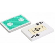 "Карты ""Fournier 818 Casino Europe"", зеленая рубашка"